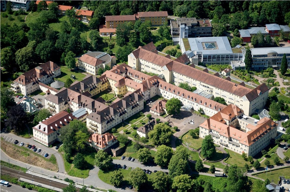 Aerial View Orthopedic Hospital - Heidelberg University Hospital