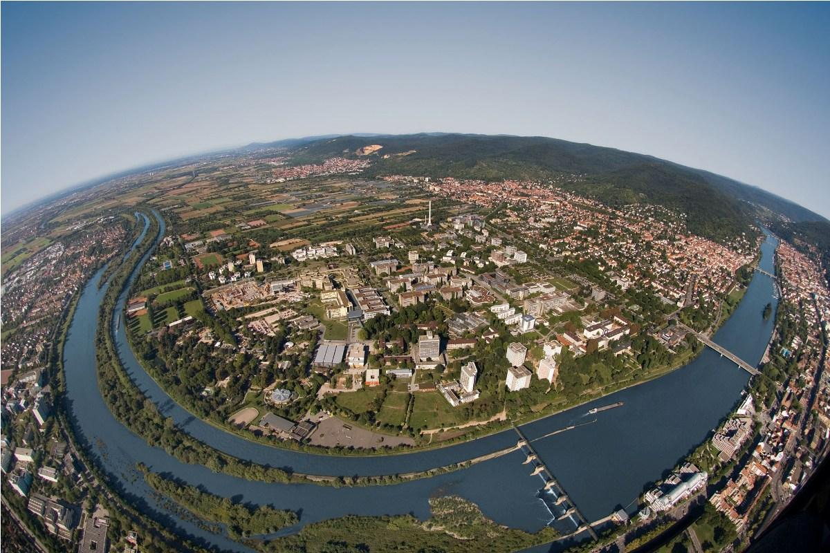 Aerial View of the Campus - Heidelberg University Hospital