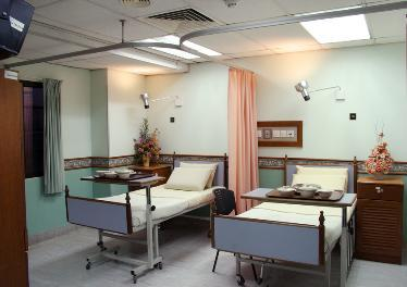 Patient's Room - Damai Service Hospital