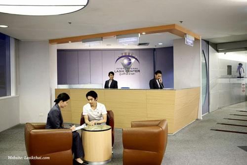 Reception - TRSC International LASIK Center