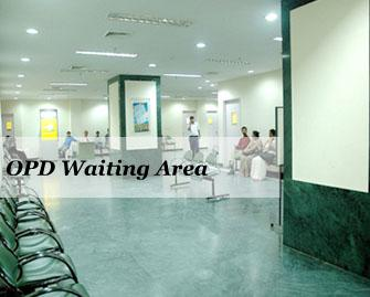 OPD Waiting Areas - Apollo Gleneagles Hospital
