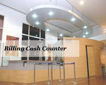 Billing Cash Counters - Apollo Gleneagles Hospital
