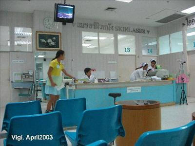 Reception - Yanhee Hospital