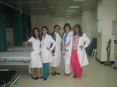 Ward Area with the Staff - Metropolitan Medical Center
