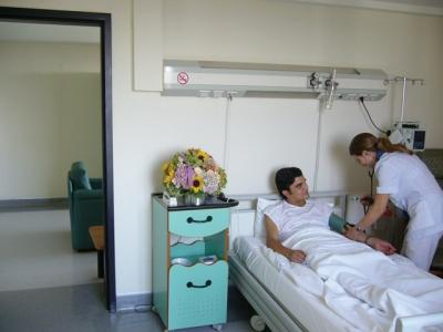 Patient's Room - Gayrettepe Florence Nightingale Hospital
