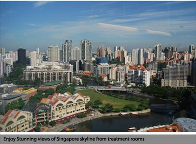 View from the treatment room - Dr H C Leong Dental Surgeon