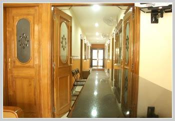 Corridor Leading to Surgery - Aggarwal Dental Clinic