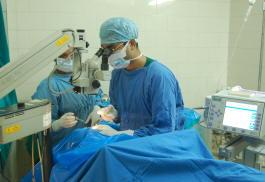 Microsurgery of the Eye - Al Shifa Hospital