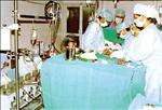 Coronary Bypass Surgery in Progress - All India Institute of Medical Science (AIIMS)