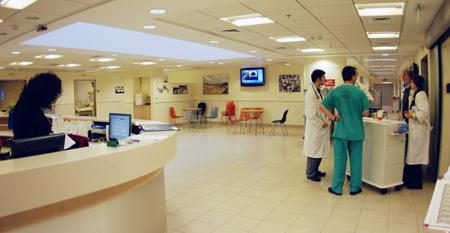 Reception - Sheba Medical Center