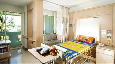 Pediatric room - Bangkok Hospital Phuket
