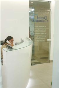 Reception Area - Dental Cosmetics Costa Rica
