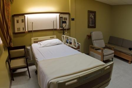 Patient's Room - San Fernando Hospital