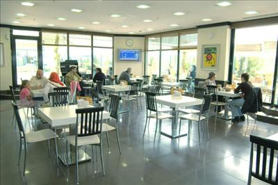 Cafe Area - Istanbul Memorial Hospital