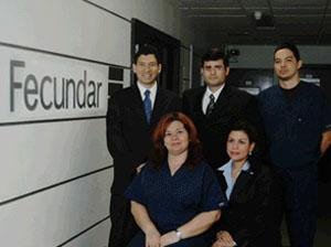 The Doctor and Staff - Centro Fecundar Panama
