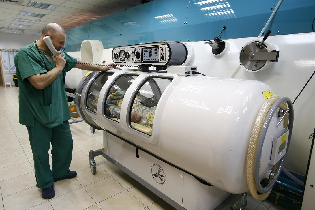 Hyperbaric chamber - Assaf Harofeh Medical Center