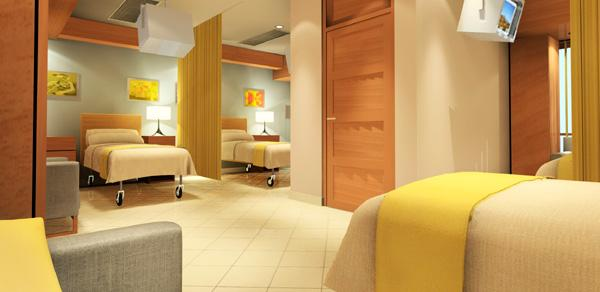 Twin Sharing Room - Moolchand Medcity