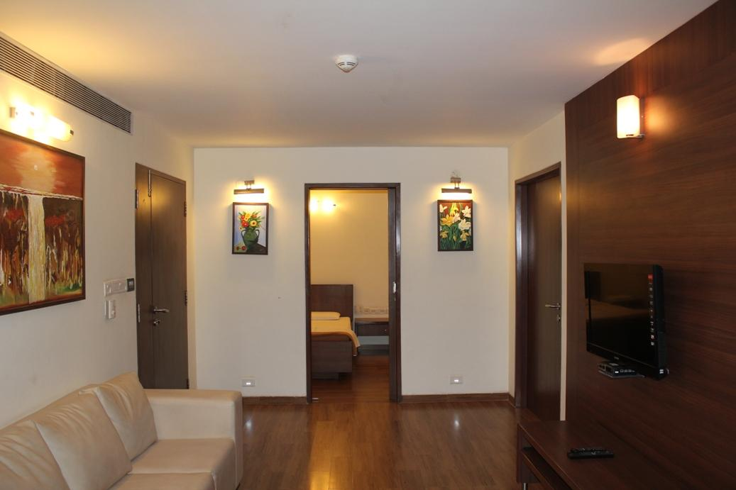Suite Living Room - Sevenhills Hospital