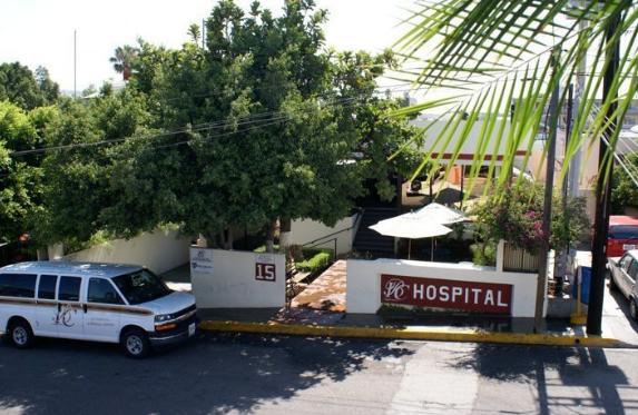 Front of Hospital - International Bio Care Hospital