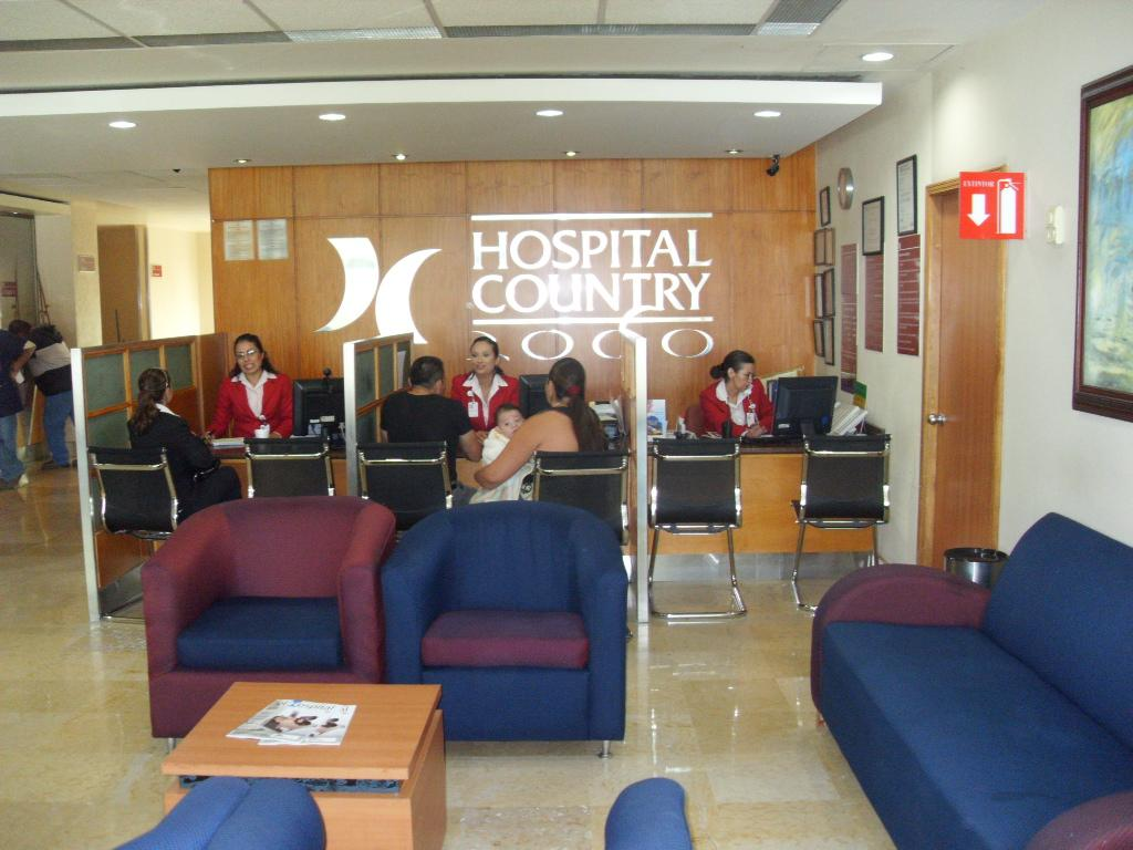 Reception Area - Hospital Country 2000