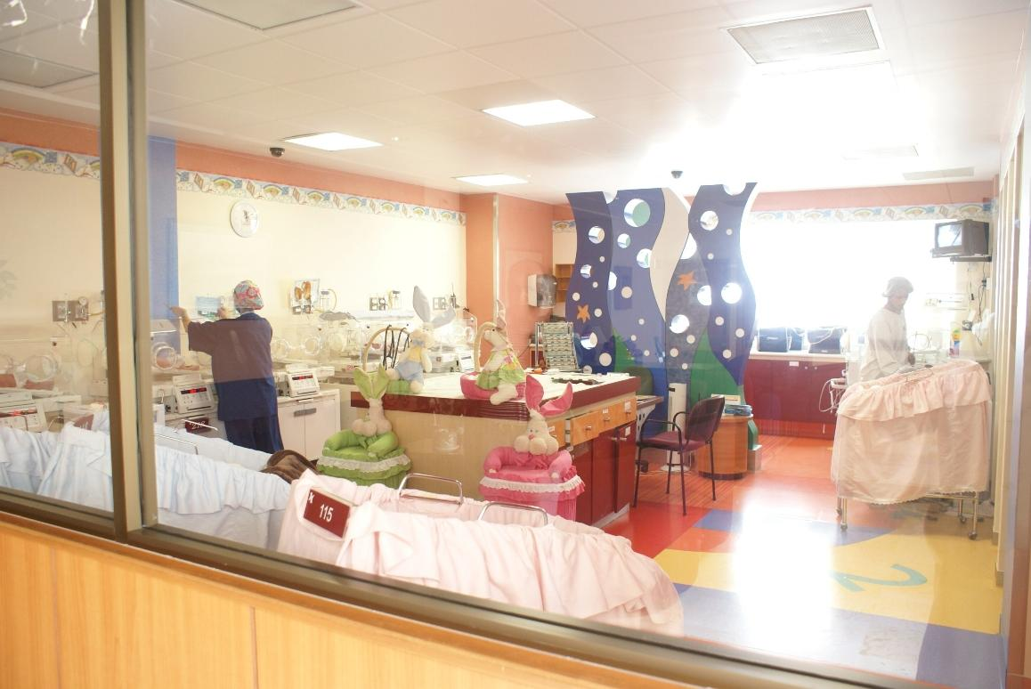 Pediatric's Area - Hospital Country 2000