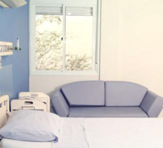 Patient's Room - Hospital Sao Rafael