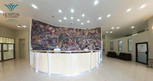 Reception - Hospital de La Familia