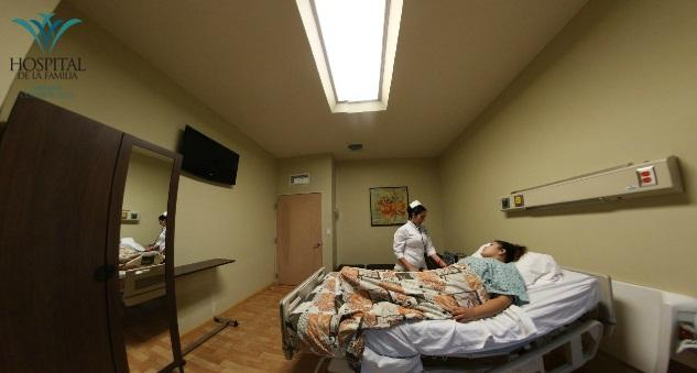 Patient's Room - Hospital de La Familia