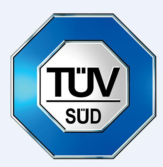 Accredited by TUV
