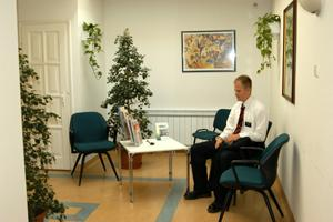Waiting Area - Buda Health Centre