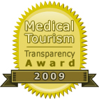 Medical tourism transparency award